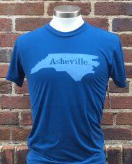 Asheville. T-shirt BLU