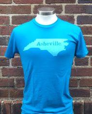 Asheville. T-shirt TURQ