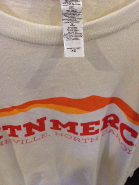 poly blend t-shirts