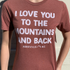 Mountains and Back T-Shirt